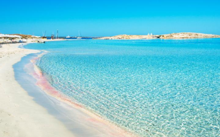 ibiza exclusive charter rent a boat in ibiza - rent a boat and visit cala saona beach in formentera